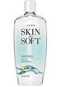Avon Skin So Soft Bath Oil Original Scent BONUS Size 25 Oz