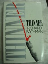 Thinner Richard Bachman - Stephen King UK British Edition 1st 1985 hcdj c31