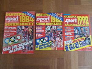 Olympia 1984 Los Angeles  , 1988 Seoul, 1992 Barcelona   Sport illustrierte