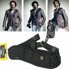 Profi DSLR Digitalkamera Tragegurt Trageriemen Kameragurt Universal Schultergurt