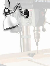 Magnetic Base, Clamp, & Trouble Lamp Swivel Light 4 Drill Press Band Scroll Saw