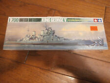 NEW - Tamiya Water Line Series 1/700 British Battleship King George V - #125