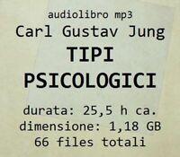 Audiolibro mp3 TIPI PSICOLOGICI Carl Gustav Jung - audiobook in file digitale