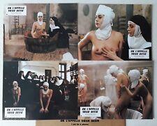 8 PHOTOS LOBBY CARDS - ON L'APPELLE SOEUR DESIR EVA GRIMALDI KARIN WELL D'AMATO