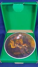 """1978 Knowles China Norman Rockwell Numbered Collector Plate """"Christmas Dream"""""""