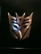 Transformers Decepticon face logo Magnet  Man Cave Metal Art Wall Decor