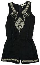 Vêtements noir avec des motifs Brodé pour fille de 2 à 16 ans