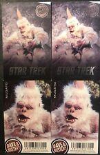 Dave & Buster's Star Trek Aliens Mugato 4x [NON-FOIL]