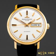 JAEGER  LE-COULTRE  CLUB  18K GOLD   AUTOMATIC  35MM   PAPERS