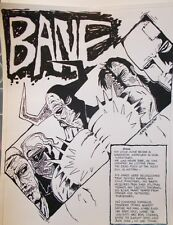 Bane illustration by Andy Garcia (1988);