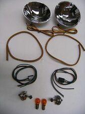 1935 1936 Ford Car 1935-1939 Pickup Truck Quartz Halogen Reflector Kit w/ Signal