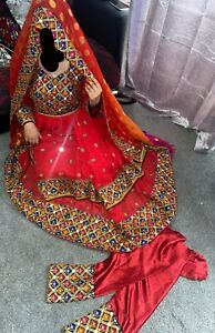 Afghan wedding Dress Pakistani party style dress ,suite