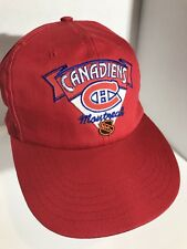 2bcb1d32f33 Montreal Canadiens NHL Snapback Cap with NHL Logo