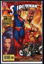 Superman #203 3x signé signed Michael Turner talent Caldwell Jason Gorder COA
