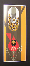 "Charles/Charley Harper Notecards ""October Edibles"" 4 Pack w/Envelopes"
