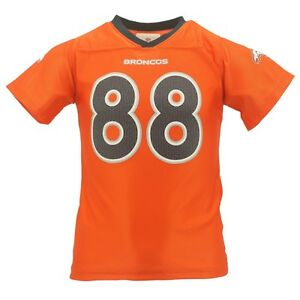 Denver Broncos Demaryius Thomas Official Youth Girls Kids NFL Team Jersey New