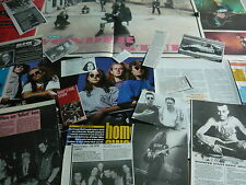 THE WONDER STUFF - MAGAZINE CUTTINGS COLLECTION (REF S10)