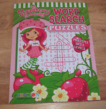 Strawberry Shortcake Jumbo Coloring Activity Book New By Bendon 96 Pages