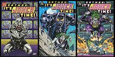 Batman Its Joker Time Trade Paperback TPB Complete Set 1 2 3 Lot Bob Hall art NM