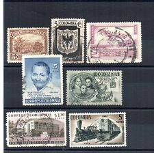 ** COLOMBIA, KOLUMBIEN, COLOMBIE old used stamps