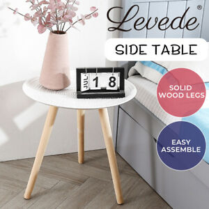 Levede Coffee Table Side End Tables Antique Storage Modern Bedside Plant Stand