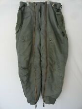 Vintage D-1B United States Air Force Military Trousers Vietnam W/Suspenders 1962