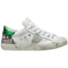 Philippe Model sneakers donna paris A10EPRLDVY06 bianco Pelle scarpe sportive