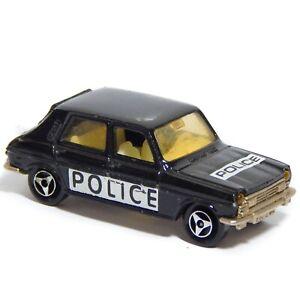 Simca 1100 TI Black Police Majorette 234 1:60 1:64 Made in France