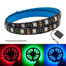 WOW - 2M Battery Powered Mood Light RGB Multi Color LED Strip Light TV Backlight