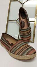 BOC Born Concept Multi-Color Leather/Canvas Comfort Shoes US 9 M 40.5