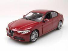 Alfa Romeo Giulia 2015 Red Met Burago 1:24 BU21080R