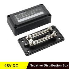DC 48V Negative Distribution Box Heavy Duty Brass Nickel Plated Terminal Block