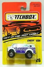 Matchbox Chevy Van White/Purple 26