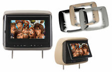"Concept BSD705 Chameleon 7"" LCD DVD Headrest Monitor w/ 3 Color Covers BSD-705"