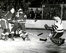 Gordie Howe,Terry Sawchuk Auction Detroit Red Wings  8x10 Photo