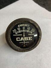 Vintage Case Dc Tractor Amp Gauge