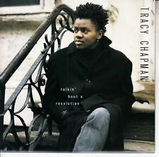 "TRACY CHAPMAN  Talkin' Bout A Revolution PICTURE SLEEVE 7"" 45 rpm record NEW"