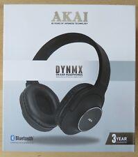 AKAI DYNMX  ON EAR WIRELESS BLUETOOTH HEADPHONES model A58069JB