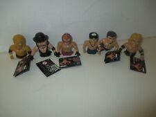 Set of 6 2008 WWE Ultimate Thumb Wrestlers - Inc John Cena, Undertaker, Mysterio