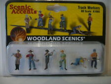 WOODLAND SCENICS,'TRACK WORKERS',Model,painted figures,Ho A1865,Hon3,S,N.