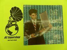 "Cliff Richard greatest hits volume 1 - LP Record Vinyl Album 12"""