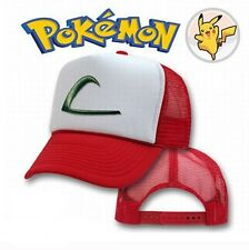 Ash Ketchum Cap Pokemon Style Hat Embroidered Character Hat Costume Baseball Cap