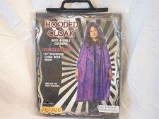 "New Hooded Cloak Cape Halloween Costume Velveteen Cloak Youth 35"""