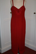 PRIMA COLLECTION SLINKY RED DRESS   SIZE 14-16