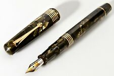 New ,Omas 90th Anniverrsary Celluloid Fountain Pen, Saft Green, Limited Edition