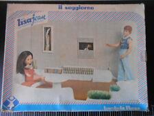Casa MOBILI BAMBOLA Soggiorno LISA JEAN FURGA Vintage  NEW DOLL TOY