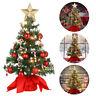 PRETYZOOM Weihnachtsbaum Künstliche Tannenbaum Kunstbaum Christbaum Deko 50cm DE