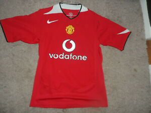 maillot football vintage manchester united 2004/05