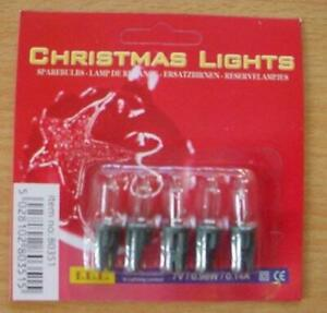 3 X E10 Replacement Screw In Frosed Candle Bulbs 34v 3w (S39)