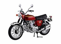 Aoshima Skynet Honda CB750FOUR (K0) Candy Red 1/12 Scale F/S w/Tracking# Japan